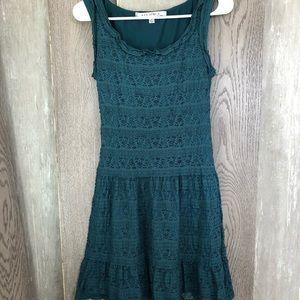 Max Studio Boho Teal midi sleeveless Dress size S